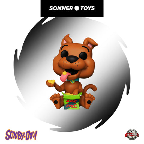 Pop! Scooby-Doo - Scooby-Doo (with Snacks) Special Edition