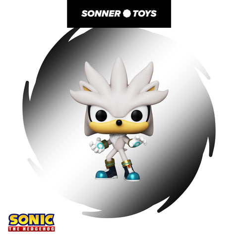 Pop! Sonic 30th - Silver the Hedgehog