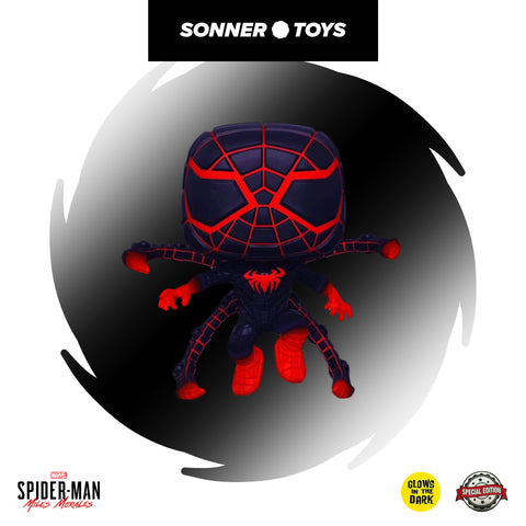 Pop! Spider-Man: Miles Morales - Programmable Matter Suit (GITD) Special Edition