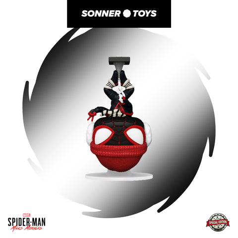 Pop! Spider-Man: Miles Morales - Winter Suit (Hanging) Special Edition