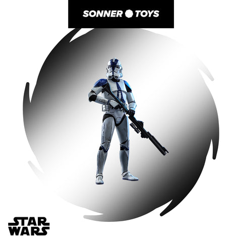 Hot Toys: Star Wars: Clone Wars - 501st Battalion Clone Trooper