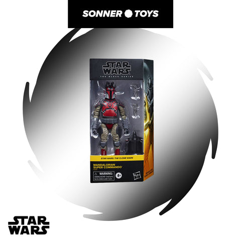Star Wars: Black Series - Mandalorian Super Commando (Clone Wars) Exclusive
