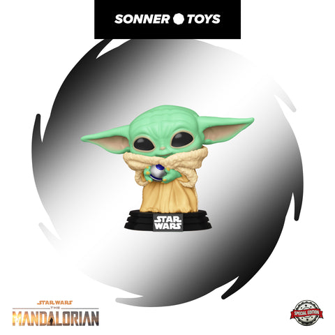 Pop! Star Wars: The Mandalorian - The Child (Control Knob) Special Edition