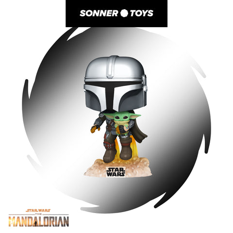 Pop! Star Wars: The Mandalorian - The Mandalorian (with Jet Pack)