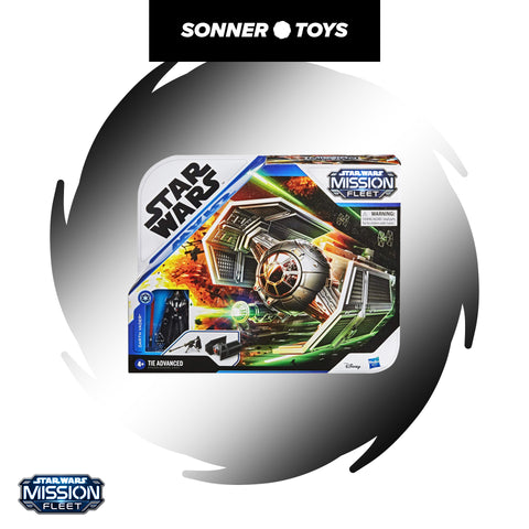 Star Wars: Mission Fleet - Darth Vader TIE Advanced