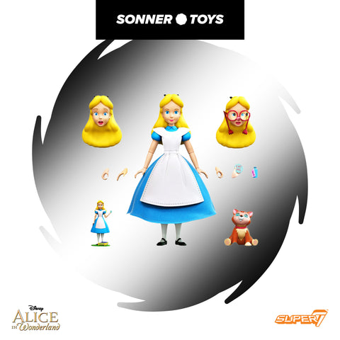 Super7 Ultimates: Alice in Wonderland - Alice
