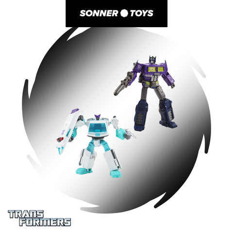 Transformers: Generations Selects - Shattered Glass Optimus Prime & Ratchet