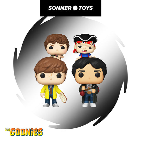 Pop! The Goonies - Complete Set of 4