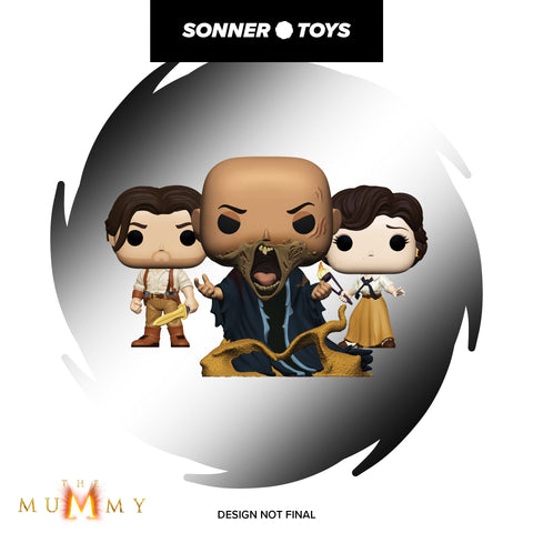 Pop! The Mummy - Complete Set of 3