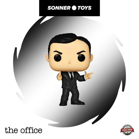 Pop! Threat Level Midnight (Office US) - Michael Scarn Special Edition
