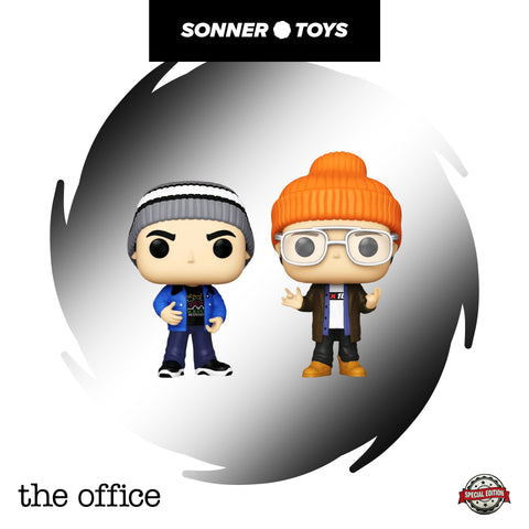 Pop! The Office (US) - Scranton Boys (2 Pack) Special Edition