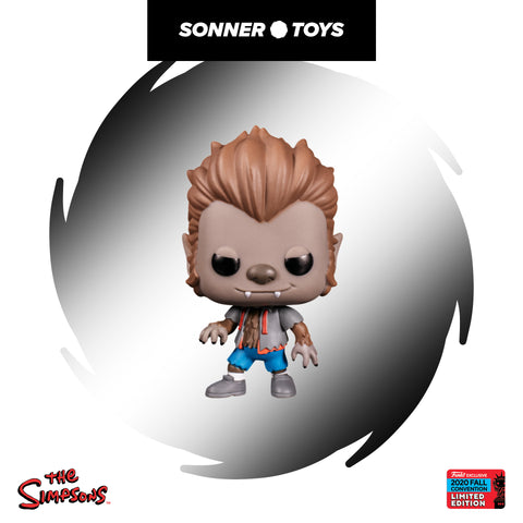 Pop! The Simpsons - Bart (Wolfman) NYCC 2020