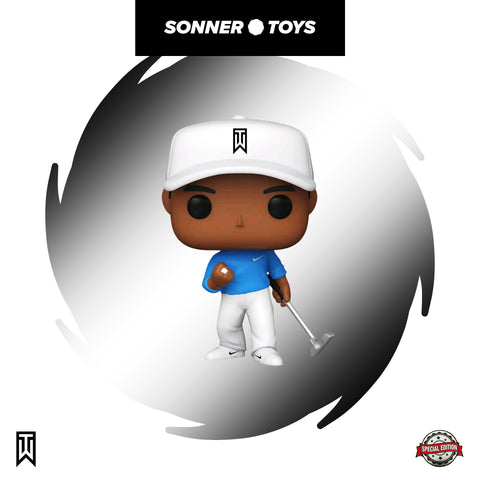 Pop! Icons - Tiger Woods (Blue Shirt) Special Edition