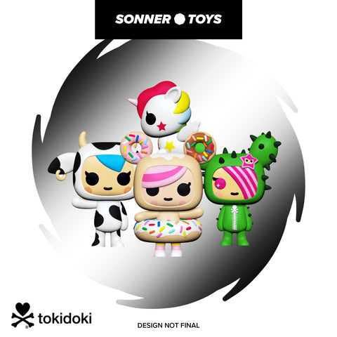 Pop! Tokidoki - Complete Set of 4
