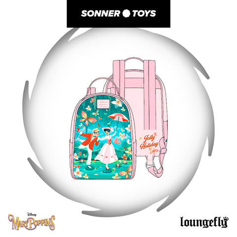 Loungefly: Disney - Mary Poppins Jolly Holiday Mini Backpack