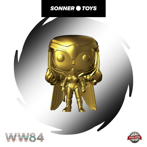 Pop! Wonder Woman 1984 - Wonder Woman (Gold Chrome) Special Edition