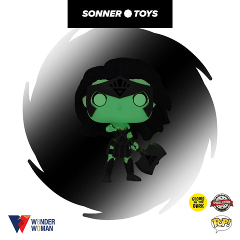 Pop! Wonder Woman 80th - Wonder Woman (Black Lantern) GITD Special Edition