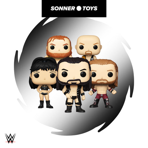 Pop! WWE - Complete Set of 5