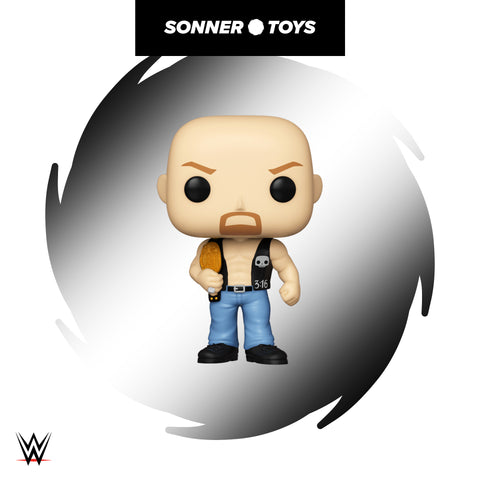 Pop! WWE - Stone Cold Steve Austin (with Belt)