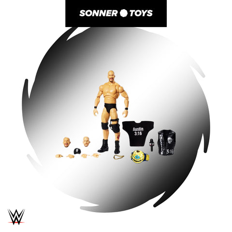 Mattel: WWE Ultimate Edition (Wave 9) - Stone Cold Steve Austin