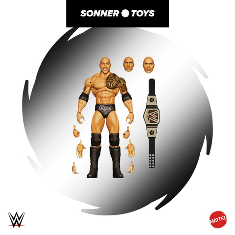 Mattel: WWE Ultimate Edition (Wave 10) - The Rock