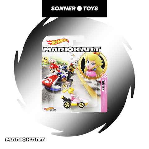 Hot Wheels: Mario Kart - Peach - SonnerToys