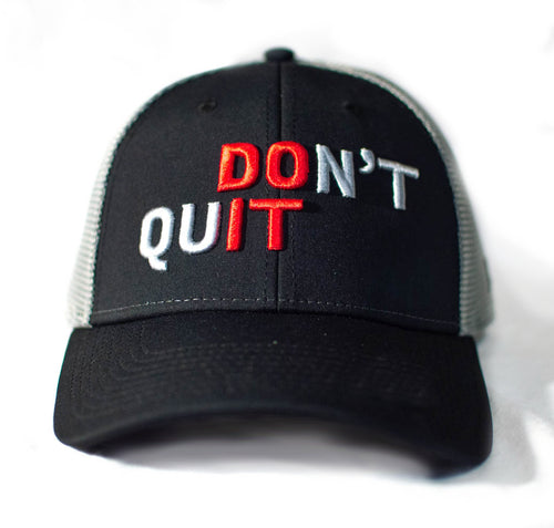 Don't Quit 2019 Baseball Hat - Black