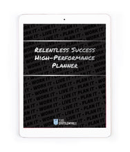 BRAND NEW PRODUCT - Digital Relentless Success Planner
