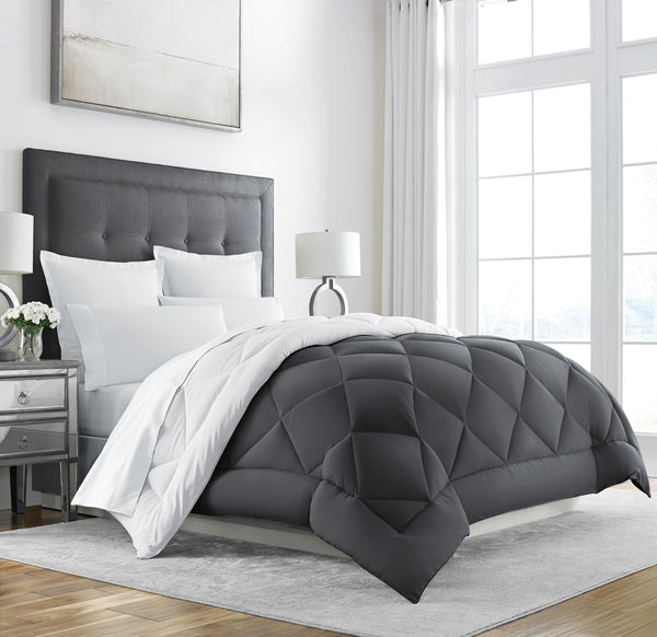 Sleep Restoration Down Alternative Comforter - Reversible - All-Season Hotel Quality Luxury Hypoallergenic Comforter