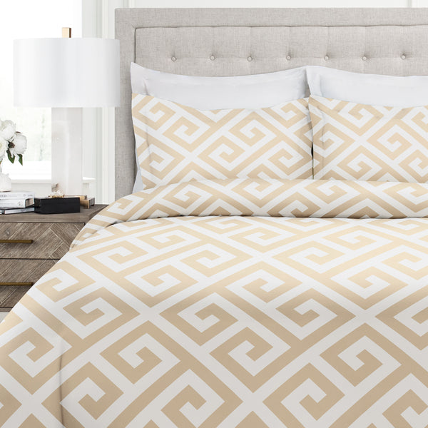 IL Greek Duvet Cover