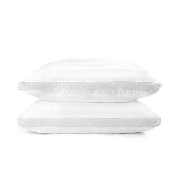 Sleep Restoration 1500 Series Gusset Gel Pillow - Plush Cooling Gel Fiber - Hypoallergenic