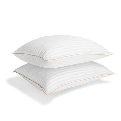 Italian Luxury Plush Gel Pillows 2100 Series (2-Pack) - Premium Quality Luxury Hotel Collection - Hypoallergenic & Dust Mite Resistant