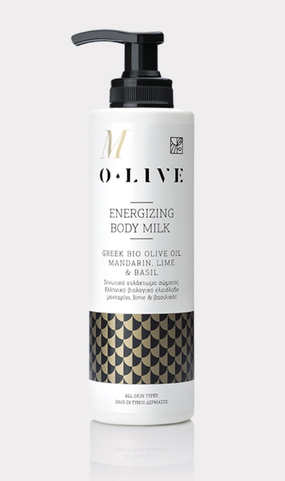 Mandarin, Lime, Basil energizing body milk