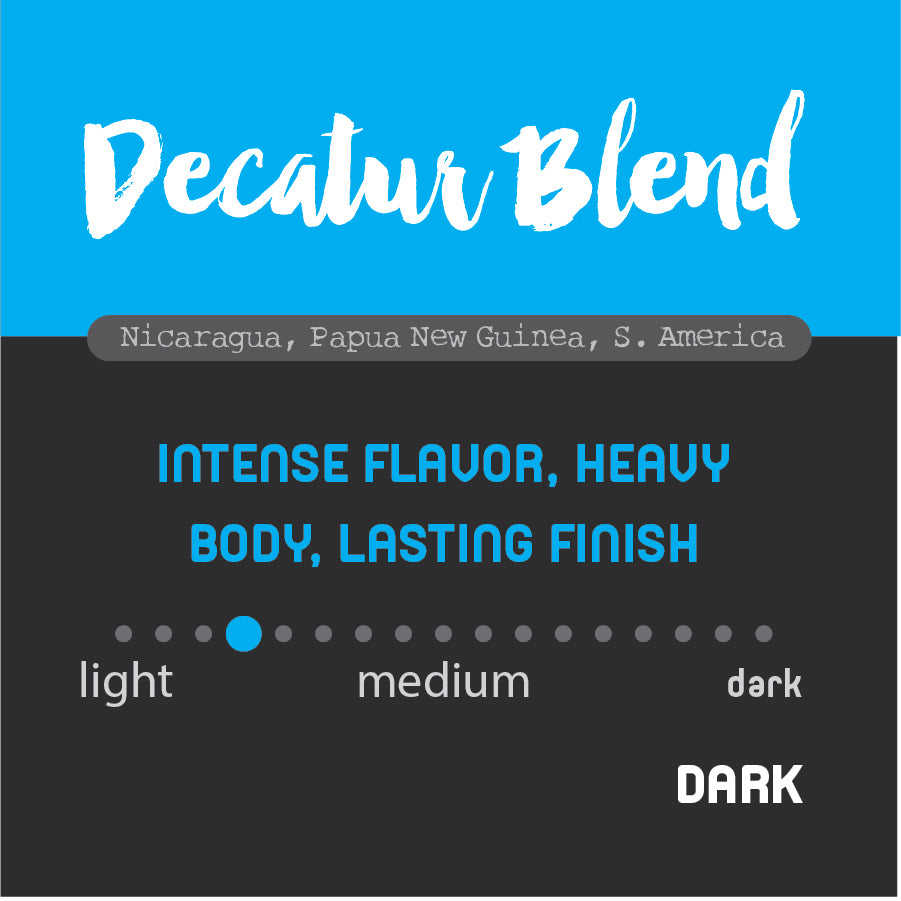 Historic Noir Coffee Group Decatur Blend Whole Bean Coffee