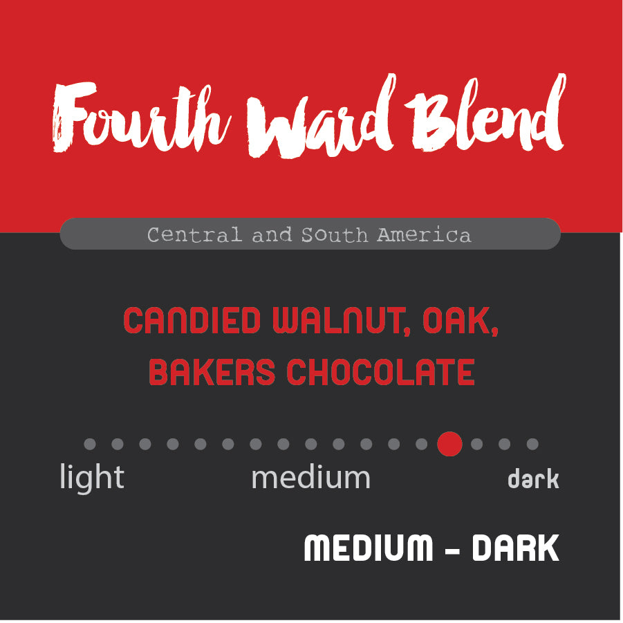 Historic Noir Coffee Group Fourth Ward Blend Ground Coffee