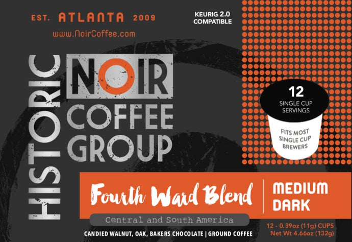 Fourth Ward Blend - 12 Single Serve Cups - KEURIG 2.0 COMPATIBLE