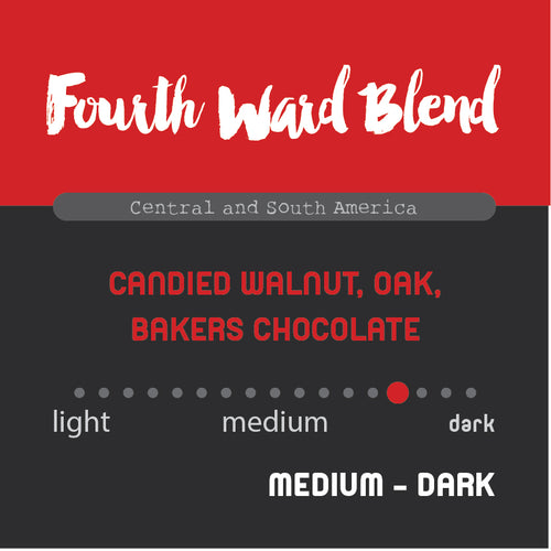 Historic Noir Coffee Group Fourth Ward Blend Whole Bean Coffee