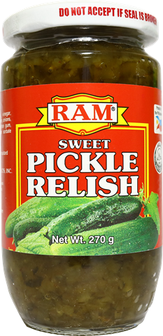 Ram Sweet Pickle Relish 270 g