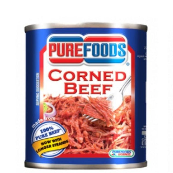 Pure Foods Corned  Beef 380 g - Mabrook