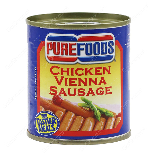 Pure Foods Chicken Vienna Sausage 130 gm - Mabrook