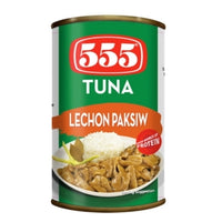 555 TUNA LECHON PACKSIW 155GM - Mabrook