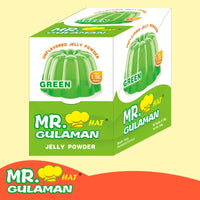 MR GULAMAN JELLY POWDER 25GM GREEN - Mabrook