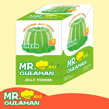 MR GULAMAN JELLY POWDER 25GM GREEN