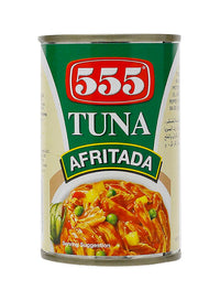 555 TUNA 155GM AFRITADA - Mabrook