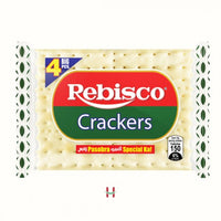 Rebisco Crackers Plain 33gm - Mabrook