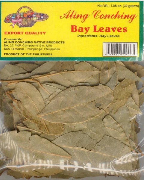 Aling Conching Bay Leaves 30gm - Mabrook