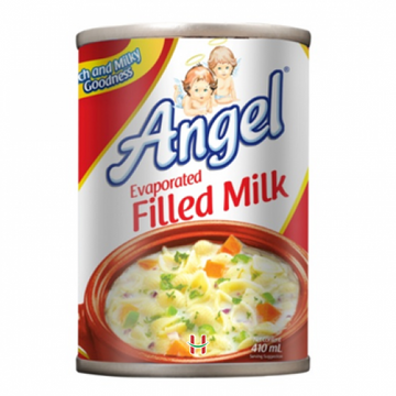 Angel Evaporated filled milk 410 ml