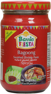 Barrio Fiesta Shrimp Paste 250 gm Spicy - Mabrook