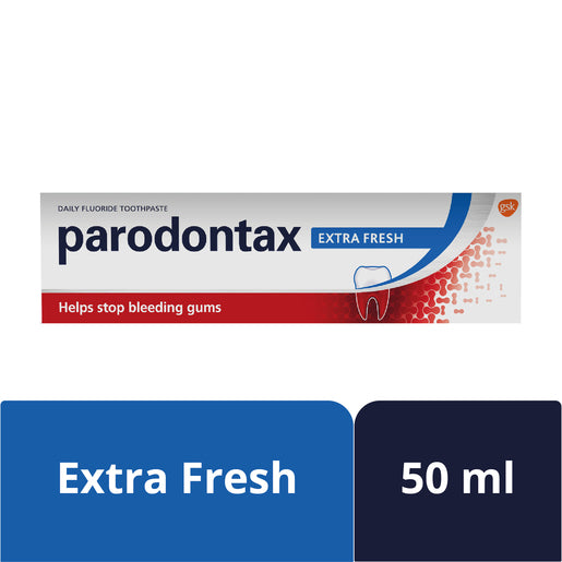 PARODONTAX TOOTH PASTE 50ML EXTRA FRESH - Mabrook