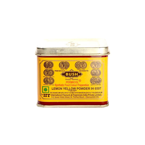 BUSH LEMON YELLOW POWDER 100GM - Mabrook